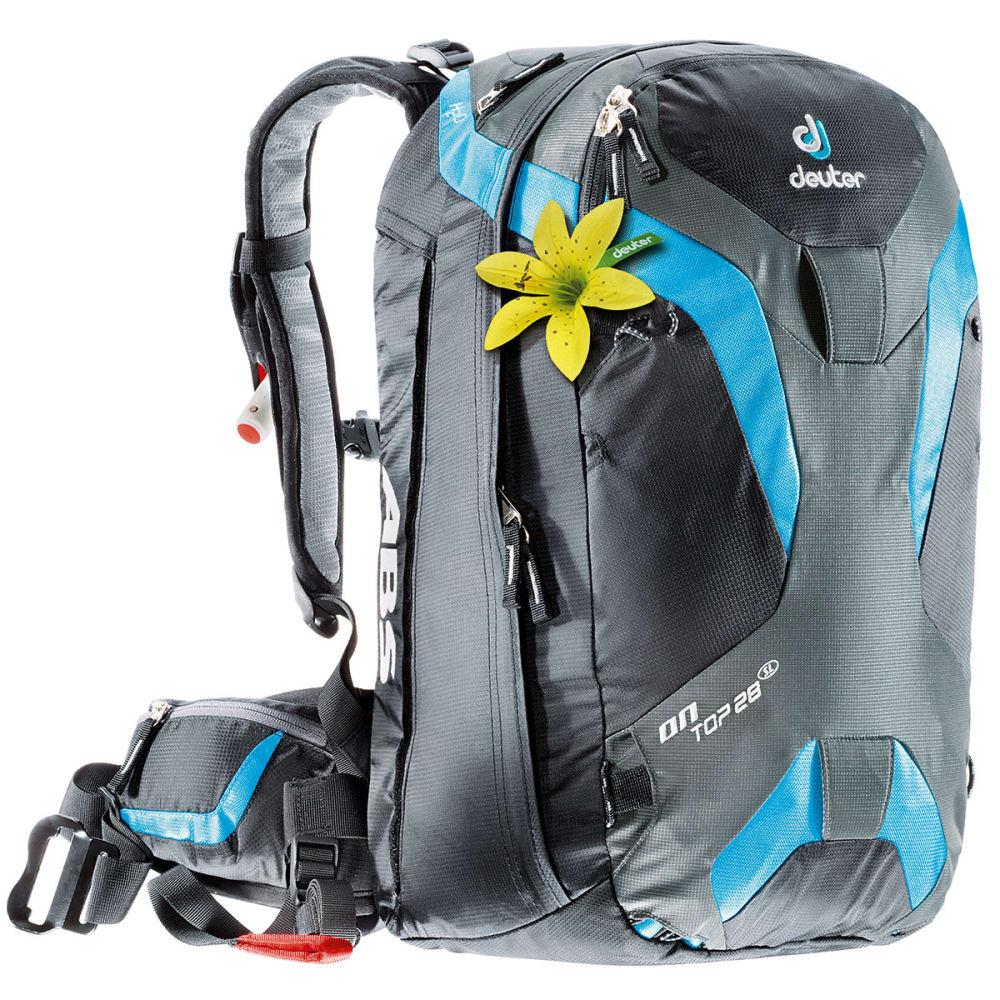 DEUTER Women's Ontop ABS 28 SL Backpack - TURQUOISE/ BLACK
