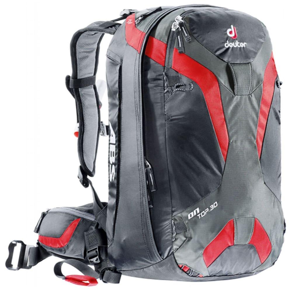 DEUTER Ontop ABS 30 Backpack - BLACK/FIRE