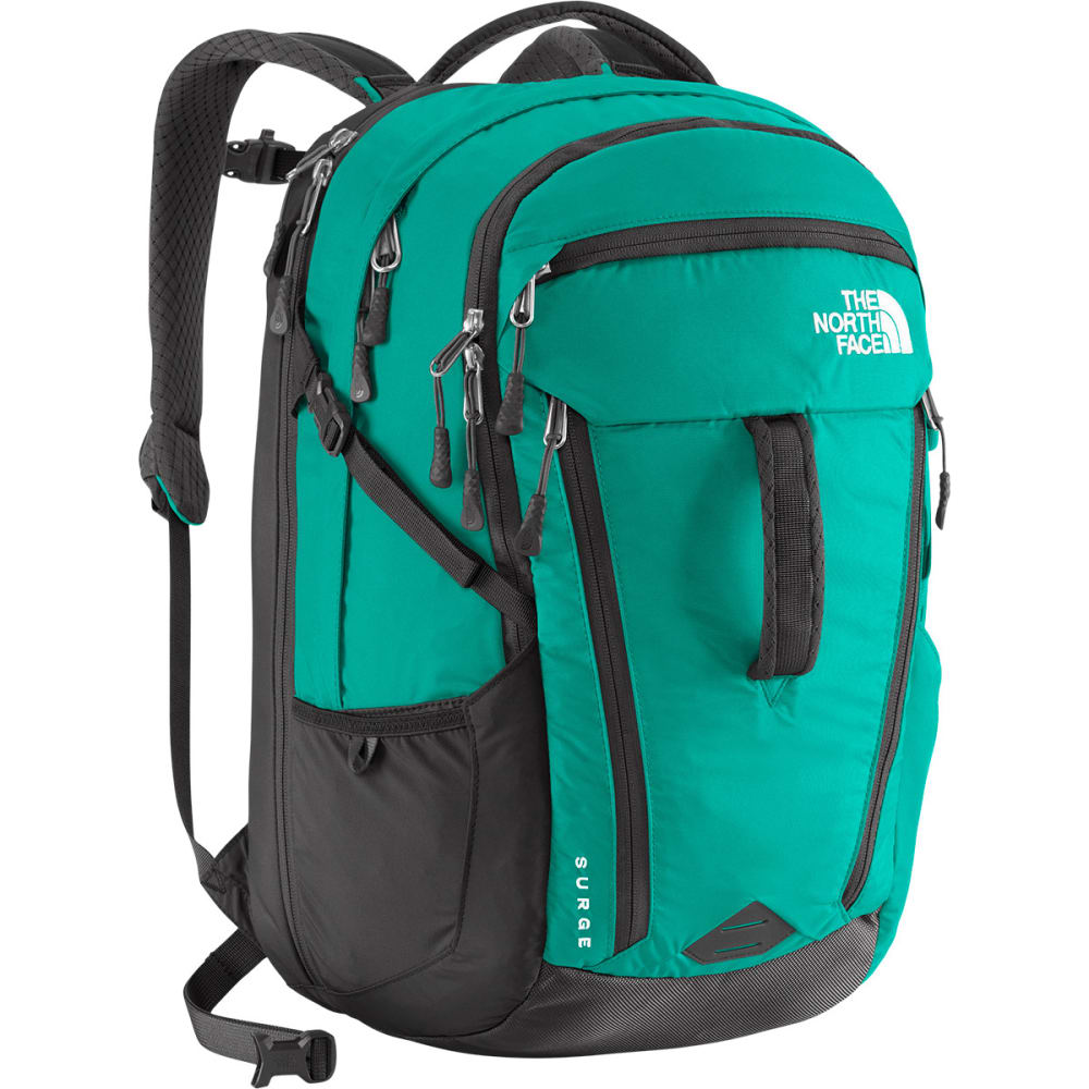THE NORTH FACE Women's Surge II Daypack - KOKOMO GREEN