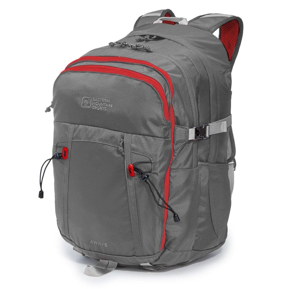 EMS® 4WJIVE Daypack - PEWTER/RIBBON RED