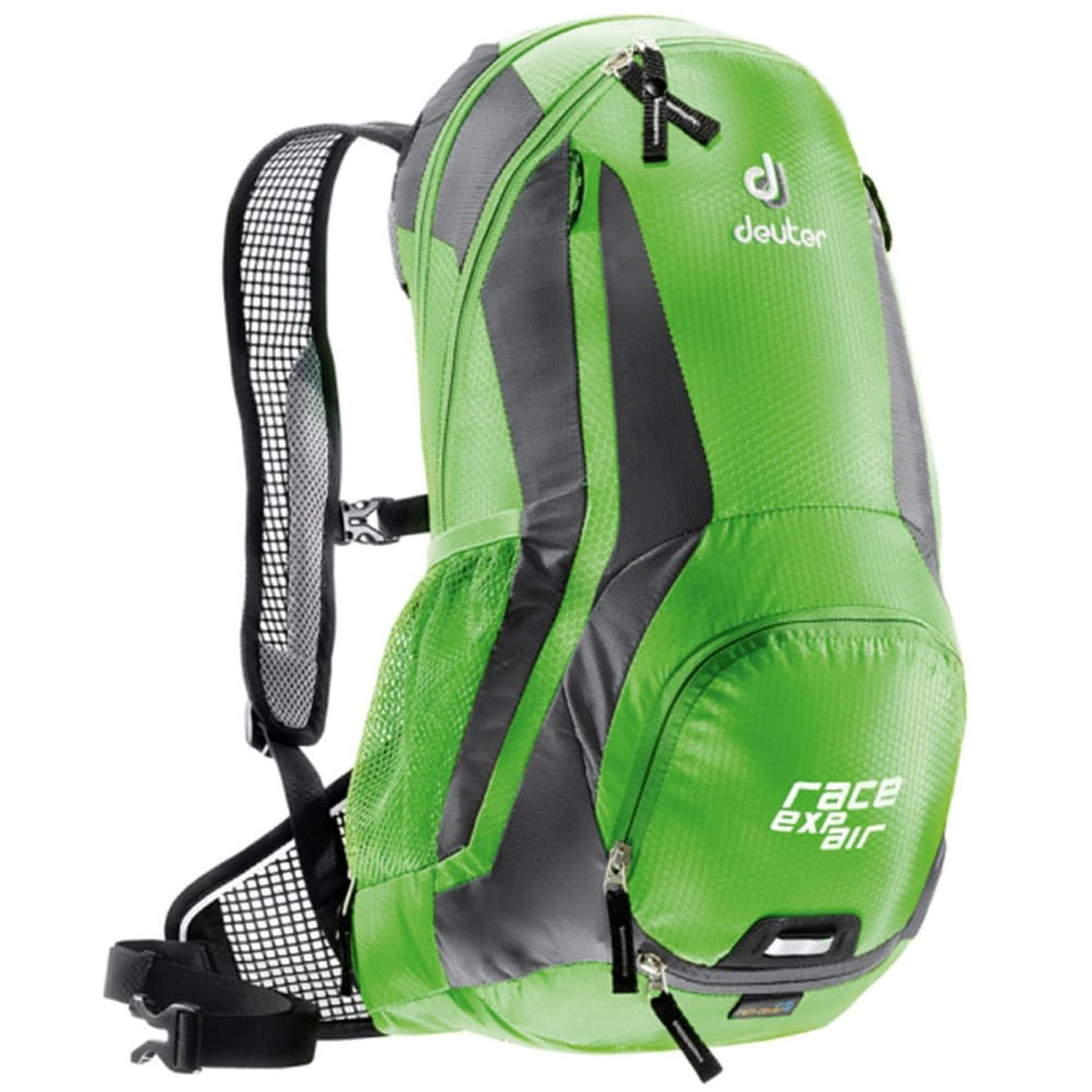 DEUTER Race EXP Air Daypack with 3 L Reservoir, Black/White - SPRING/ANTHRACITE