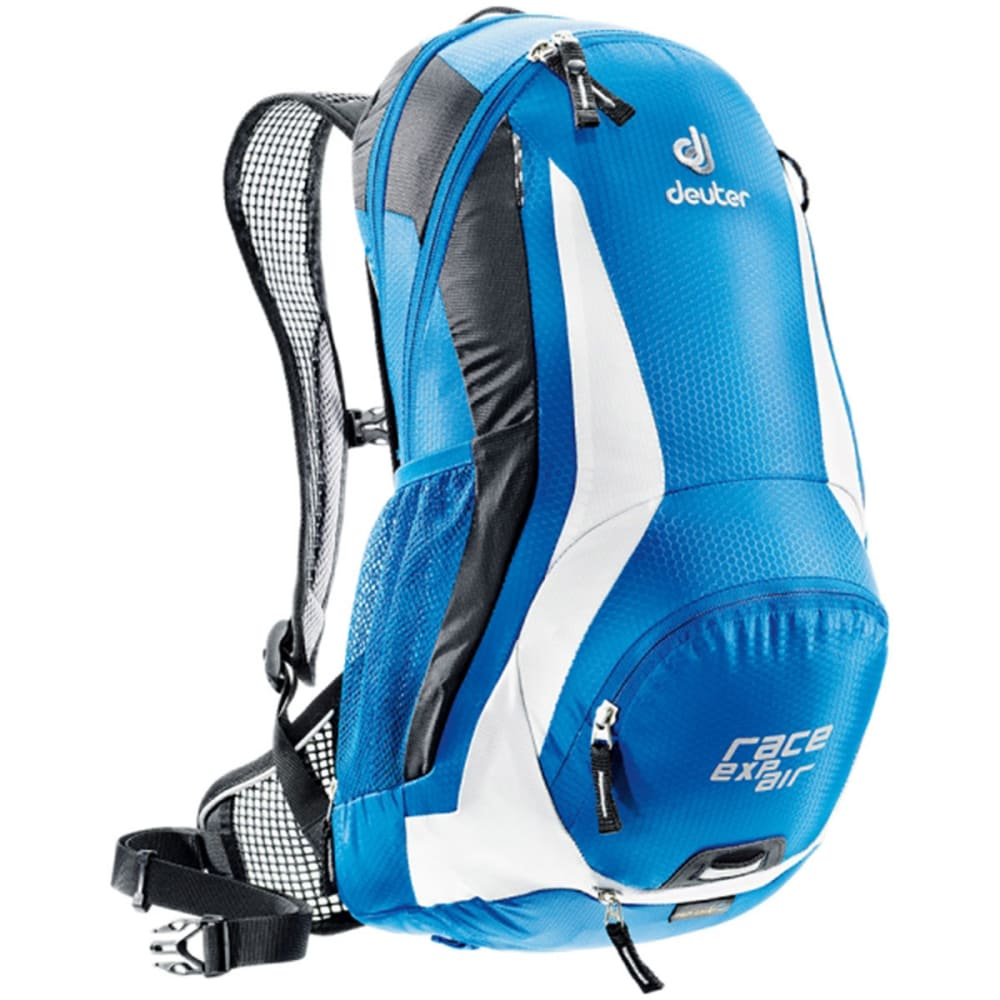 DEUTER Race EXP Air Daypack with 3 L Reservoir, Black/White - OCEAN/WHITE