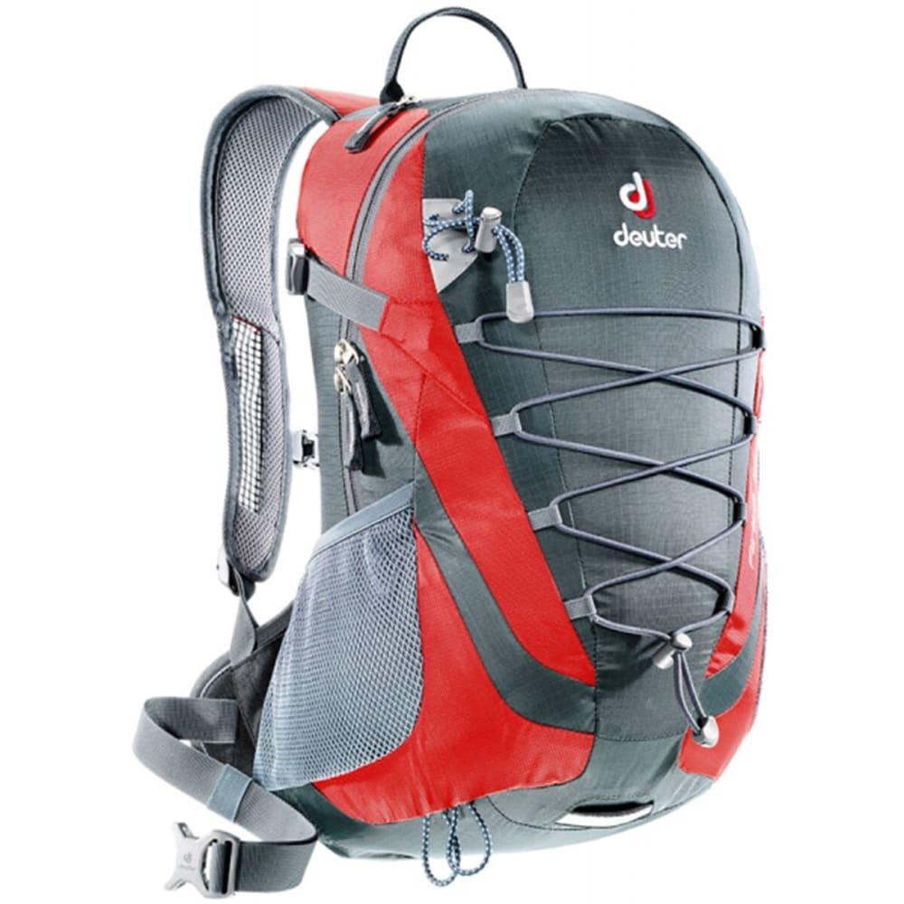 DEUTER Airlite 16 Backpack - GRANITE/FIRE