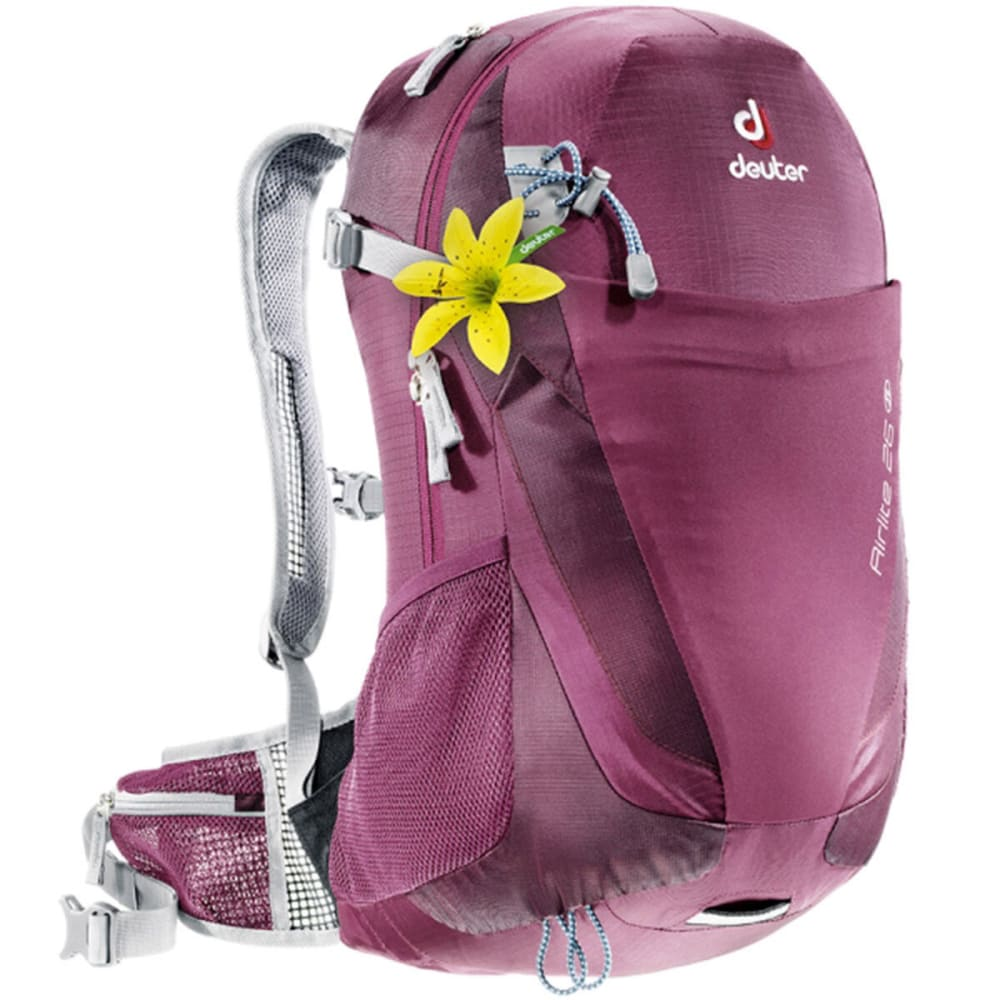 DEUTER Women's Airlite 26 SL Backpack - BLACKBERRY/AUBERGINE