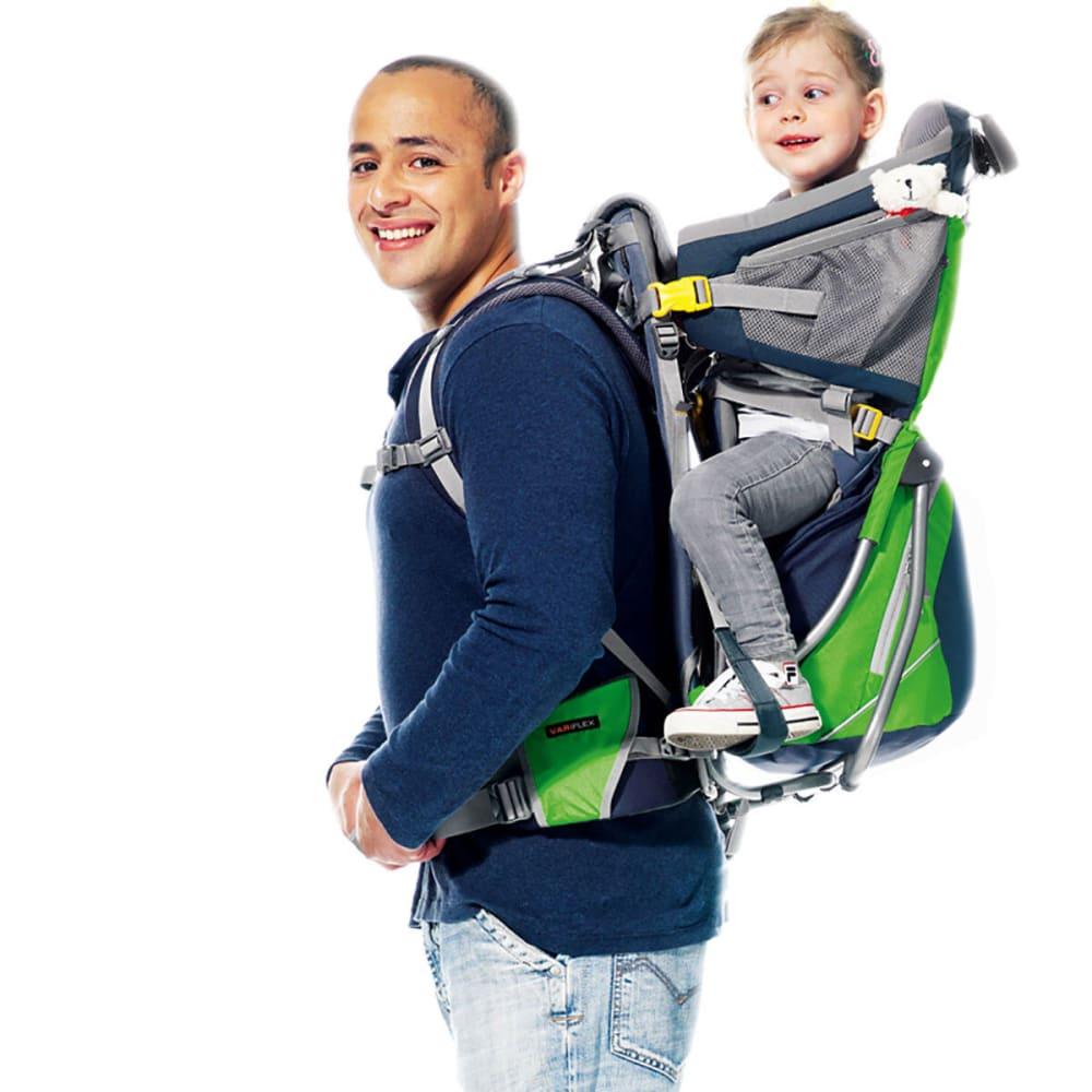 DEUTER Kid Comfort Air Child Carrier - GRANITE/EMERALD