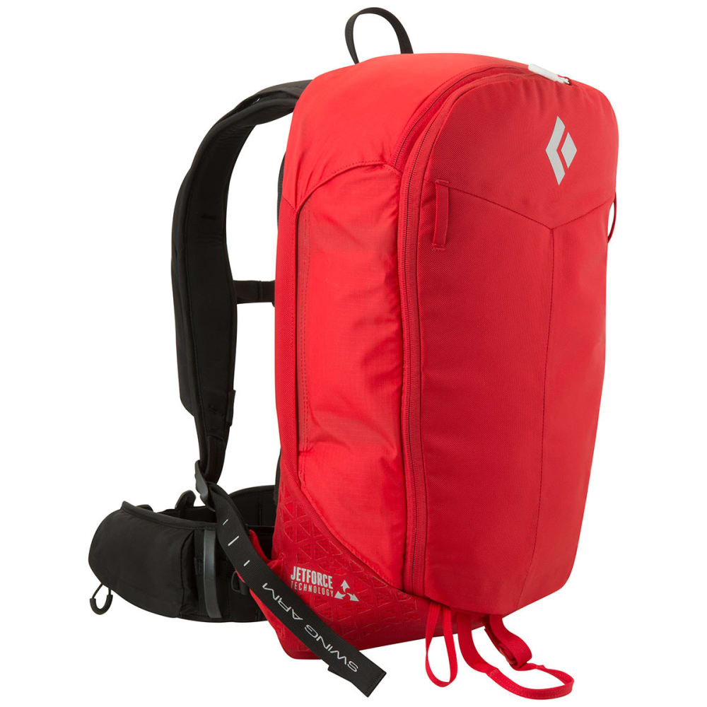 BLACK DIAMOND Pilot 11 Jetforce Avalanche Airbag Pack - FIRE RED