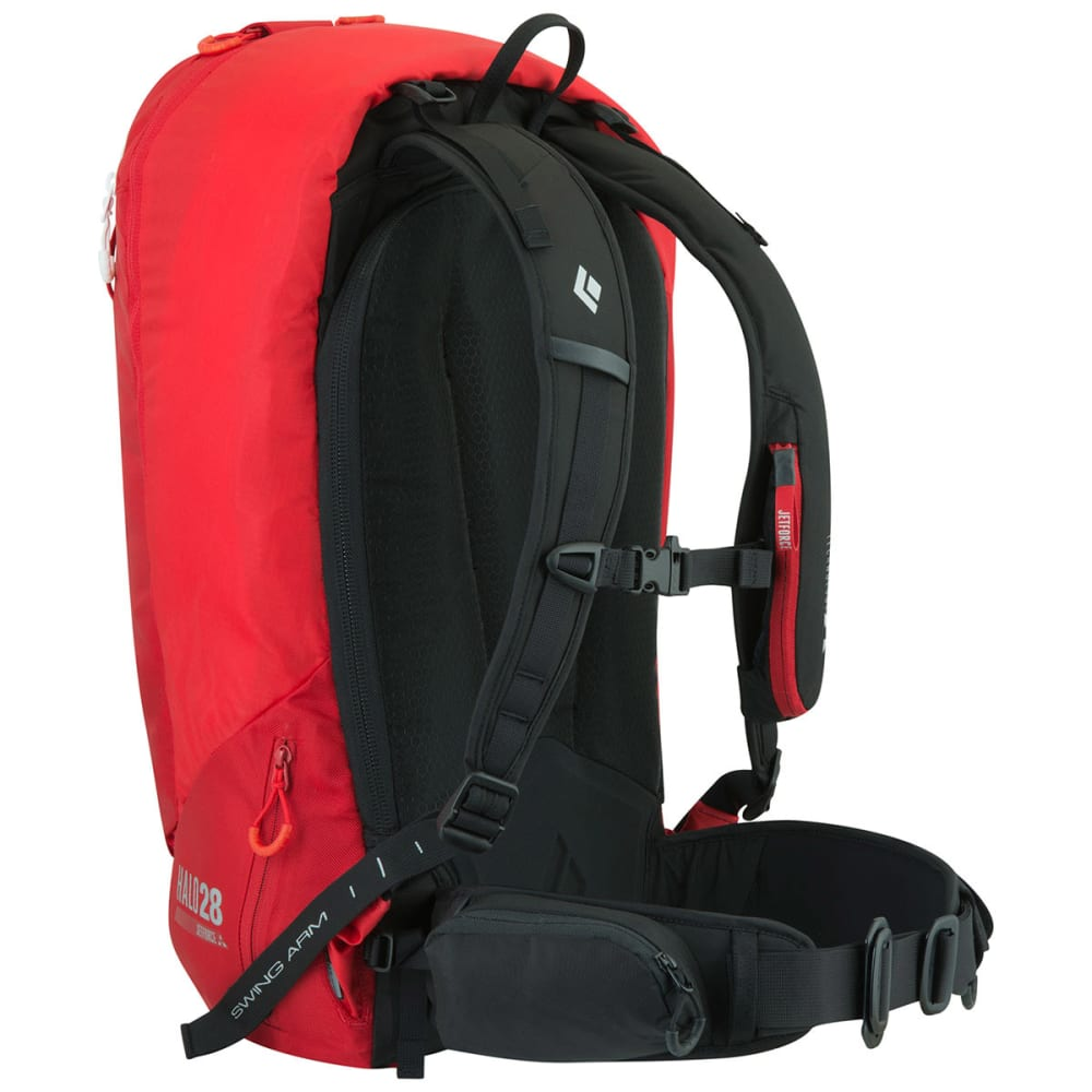 BLACK DIAMOND Halo 28 Jetforce Avalanche Airbag Pack - FIRE RED