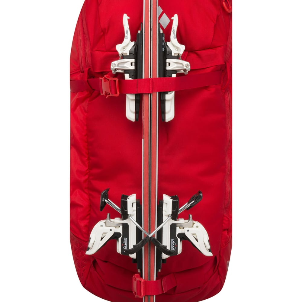 BLACK DIAMOND Saga 40 Jetforce Avalanche Airbag Pack - FIRE RED