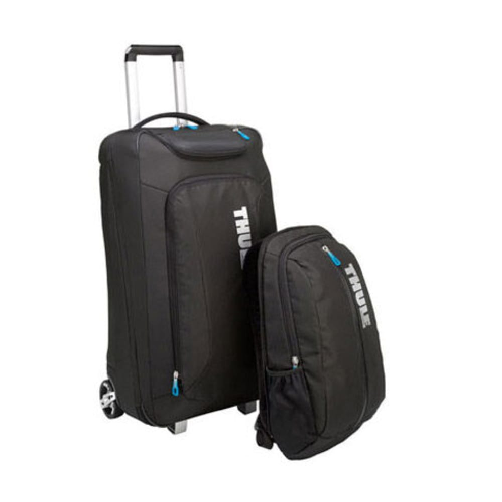 THULE Crossover 60 L Rolling Upright with Daypack - BLACK