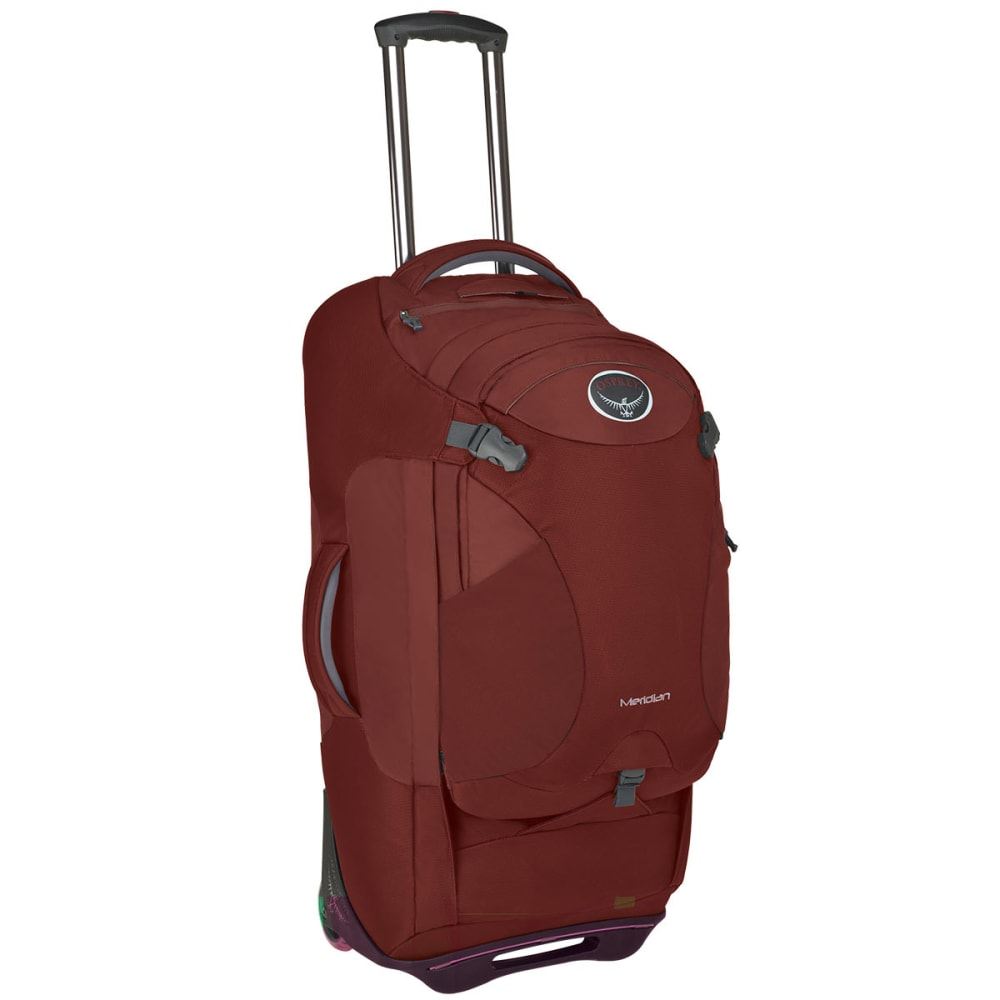 OSPREY Meridian 28 Wheeled Luggage - RUSTED RED