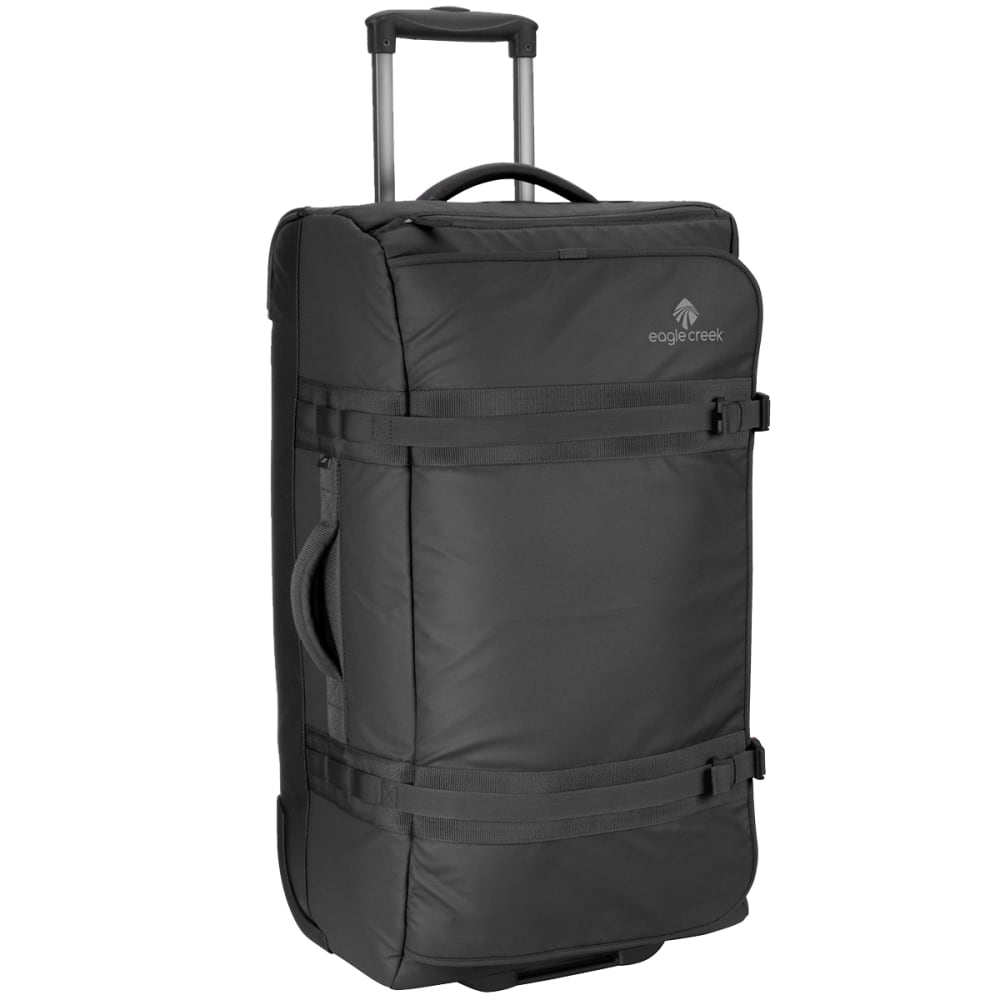 EAGLE CREEK No Matter What™ Flatbed 28 Rolling Duffel - BLACK
