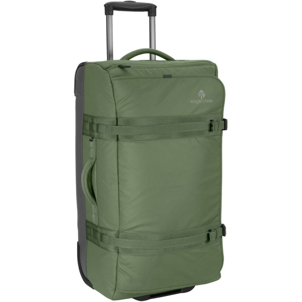 EAGLE CREEK No Matter What Flatbed 28 Rolling Duffel - OLIVE GREEN