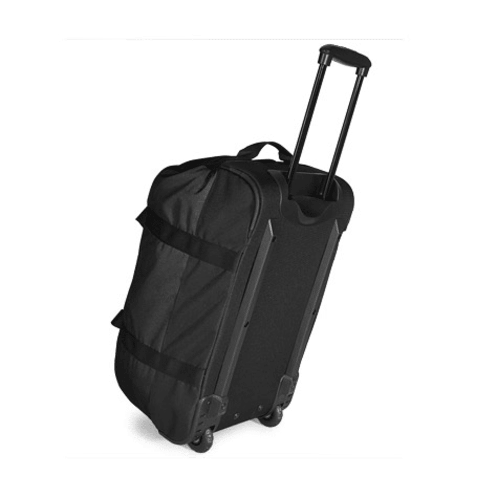 EMS® Wheeled Camp Duffel, Medium  - JET BLACK