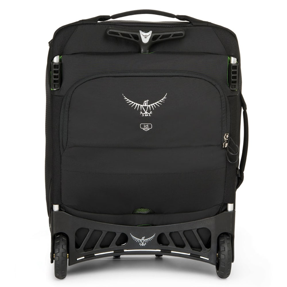 OSPREY Ozone Wheeled Luggage, 18 - BLACK