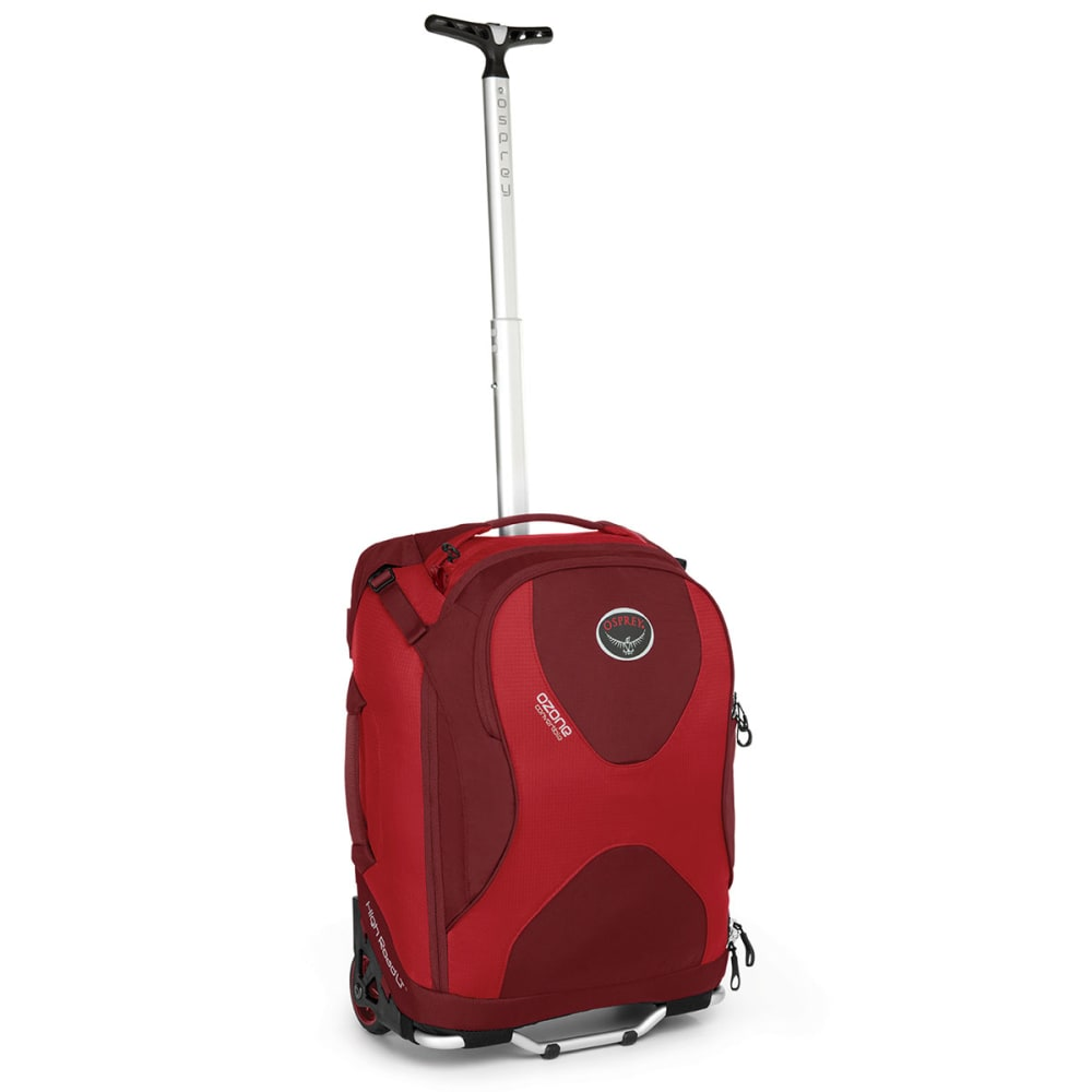 OSPREY Ozone Wheeled Luggage, 18 - HOODOO RED