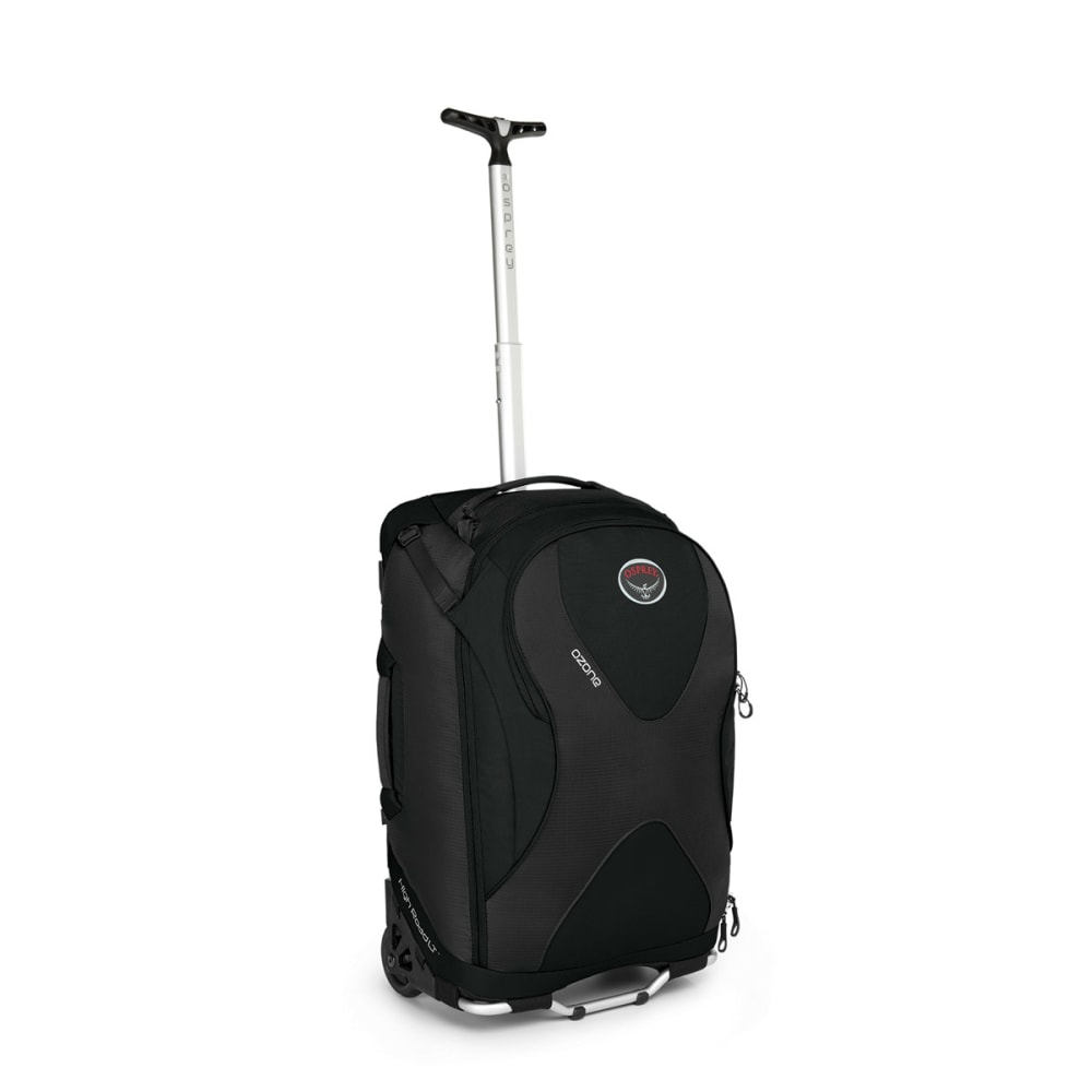 OSPREY Ozone Wheeled Luggage, 22 - BLACK