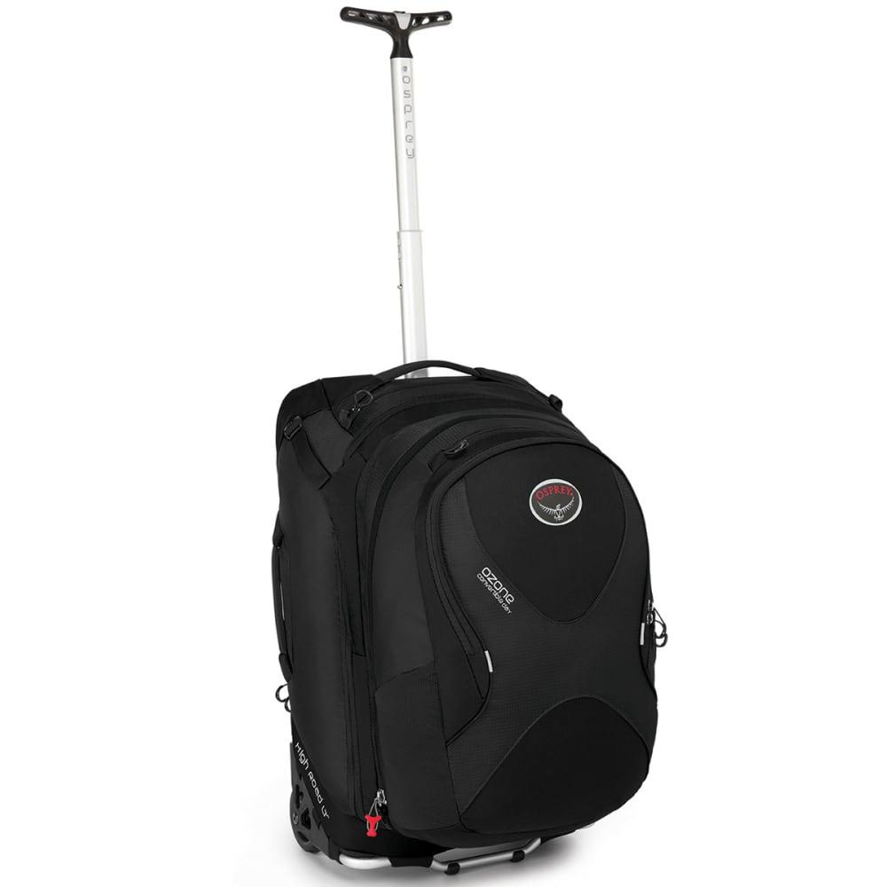 OSPREY Ozone Convertible Wheeled Luggage, 22 in. - BLACK