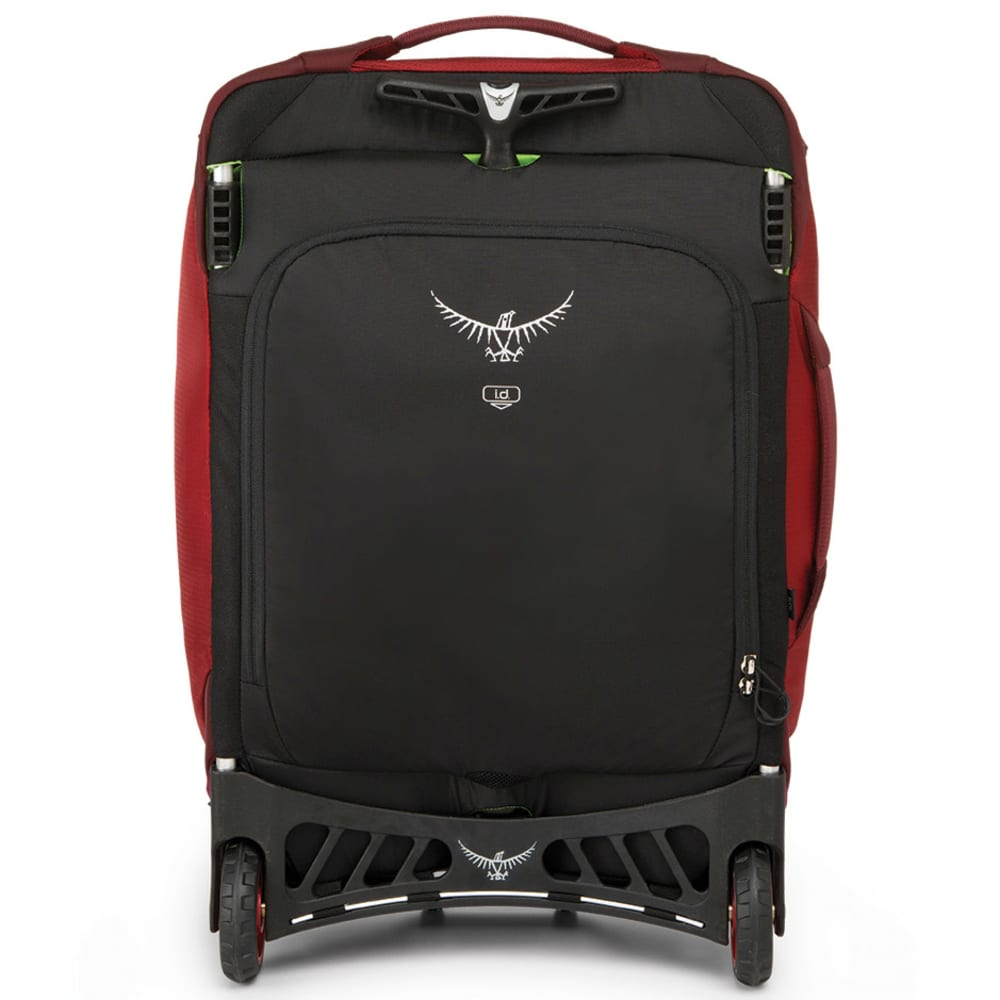 OSPREY Ozone Convertible Wheeled Luggage, 22 in. - HOODOO RED