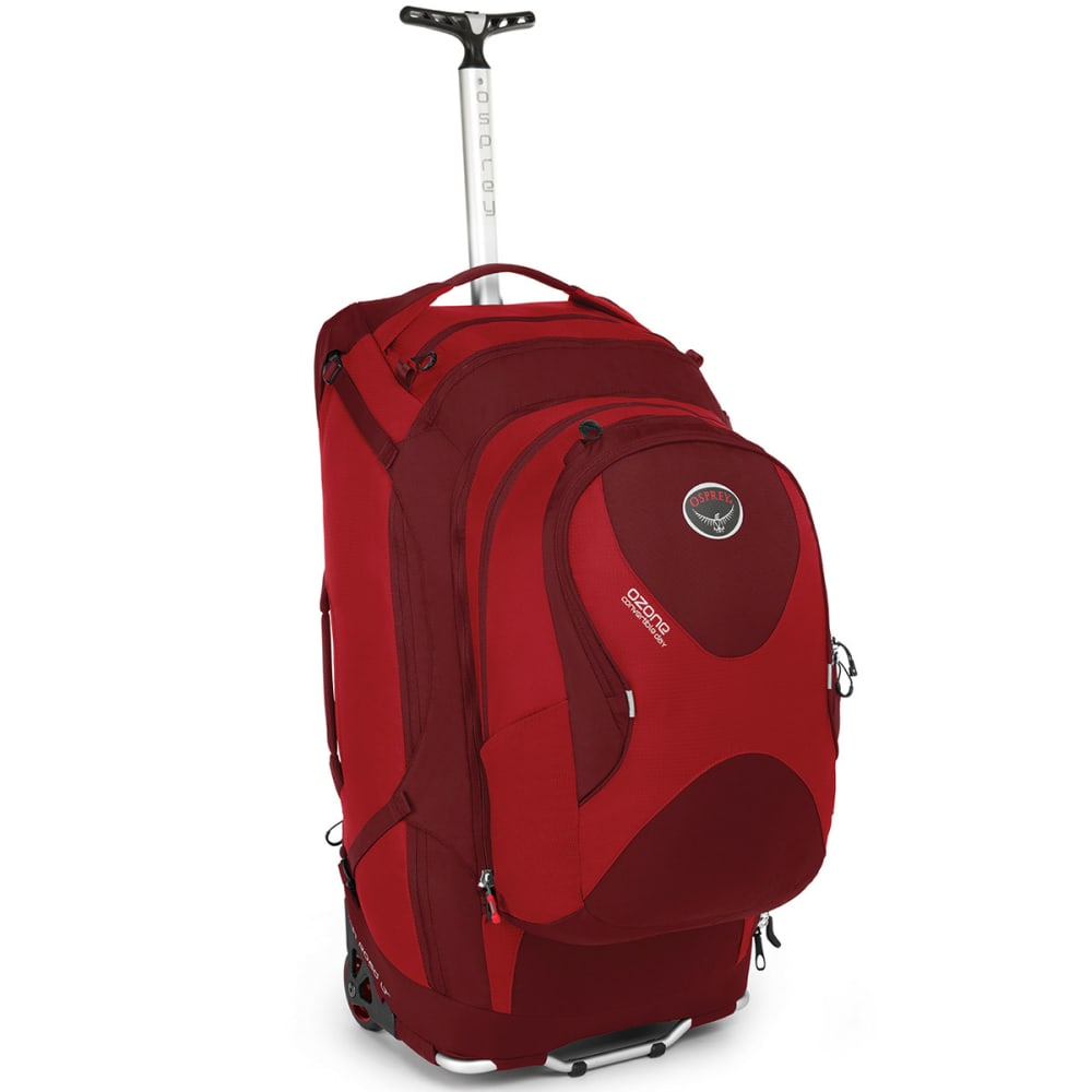 "OSPREY Ozone Convertible 75L/28"" Wheeled Luggage - HOODOO RED"