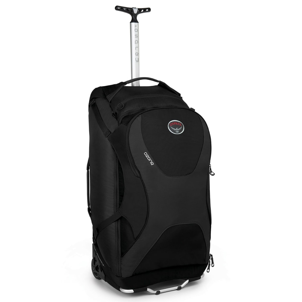 "OSPREY Ozone 80L/28"" Wheeled Luggage - BLACK"