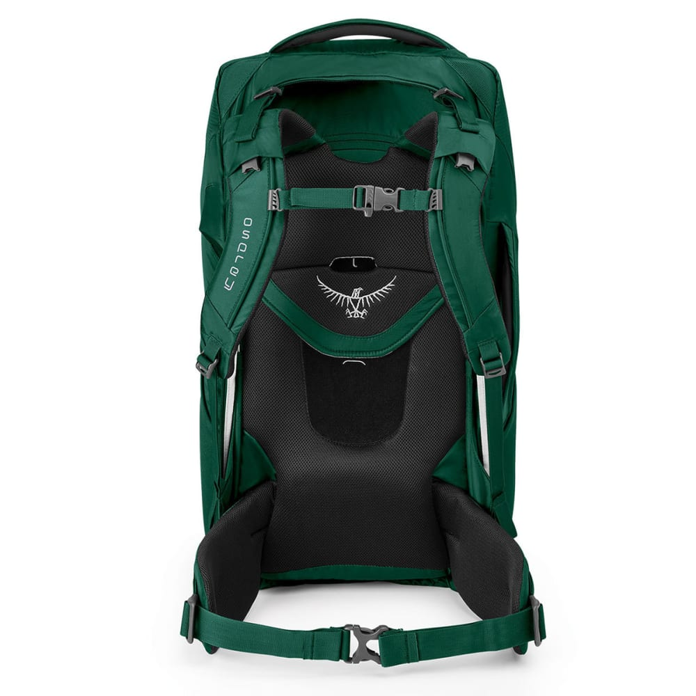 OSPREY Waypoint 80 Conversion Pack, Highland Green - SLATE GREY
