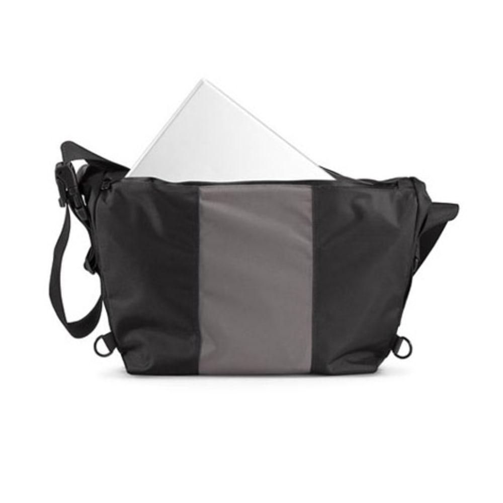TIMBUK2 D-Lux Messenger Bag - BLACK/GUNMETAL