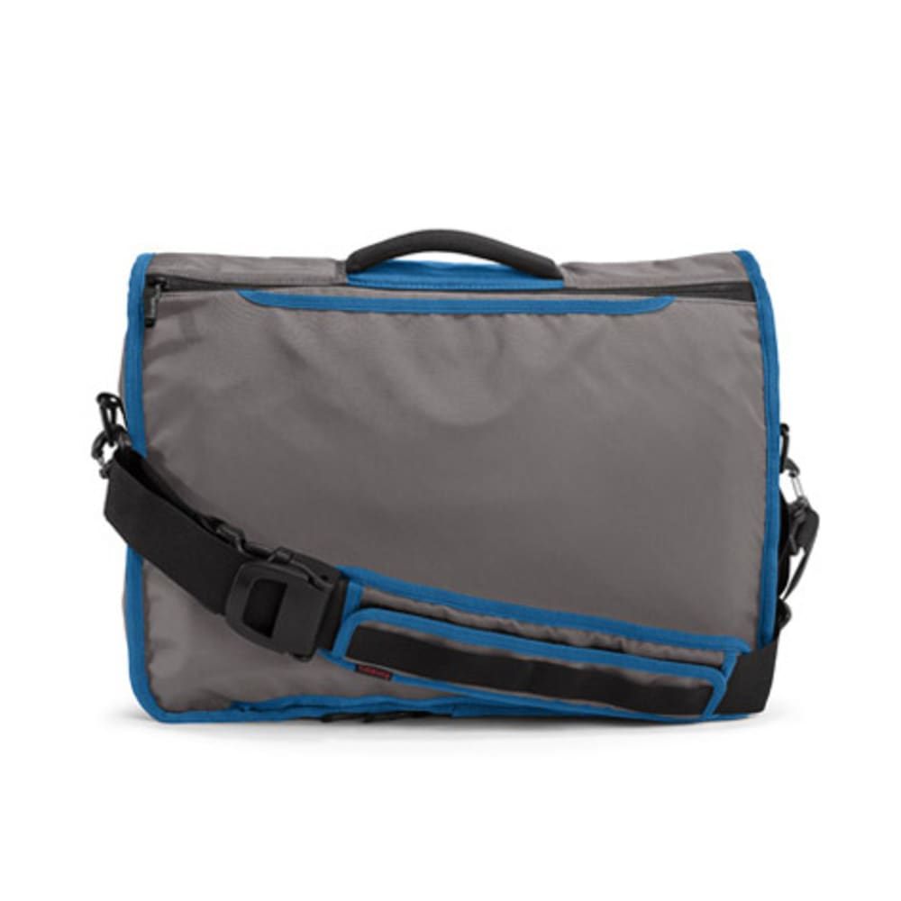 TIMBUK2 Command Messenger Bag - GUNMETAL/BLUE
