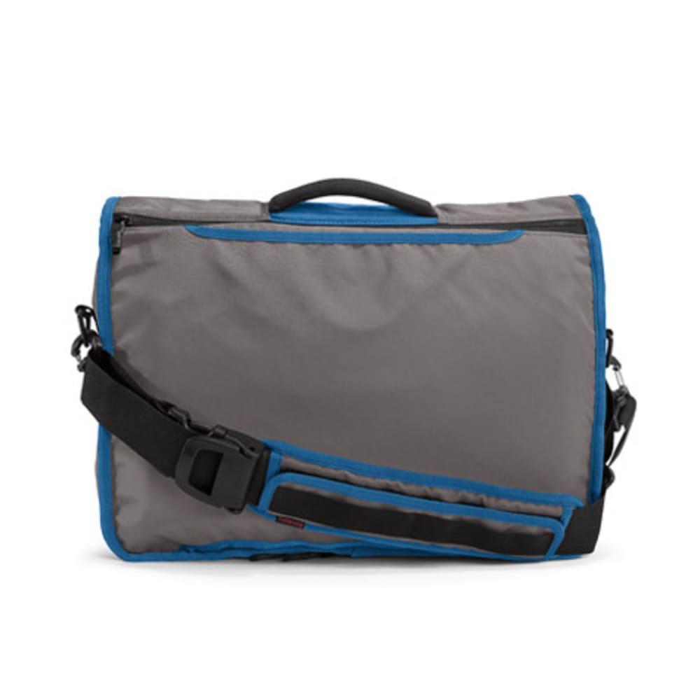 TIMBUK2 Command Messenger Bag - GUNMETAL/BLUE