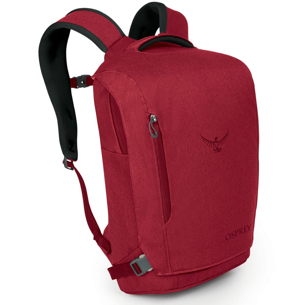 OSPREY Pixel Port Daypack - PINOT RED