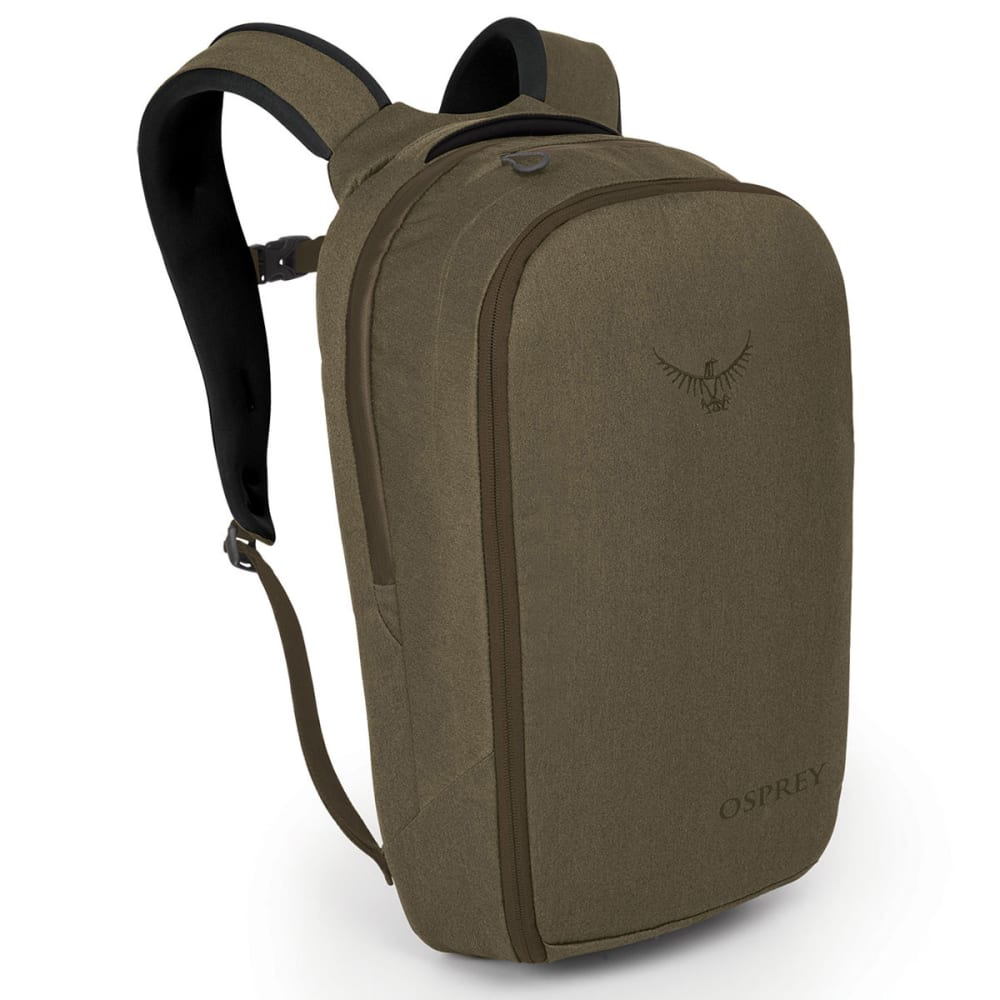OSPREY Cyber Port Daypack - CHESTNUT BROWN