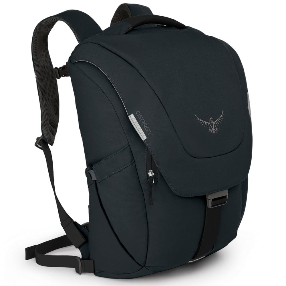 OSPREY Flap Jack Pack - BLACK