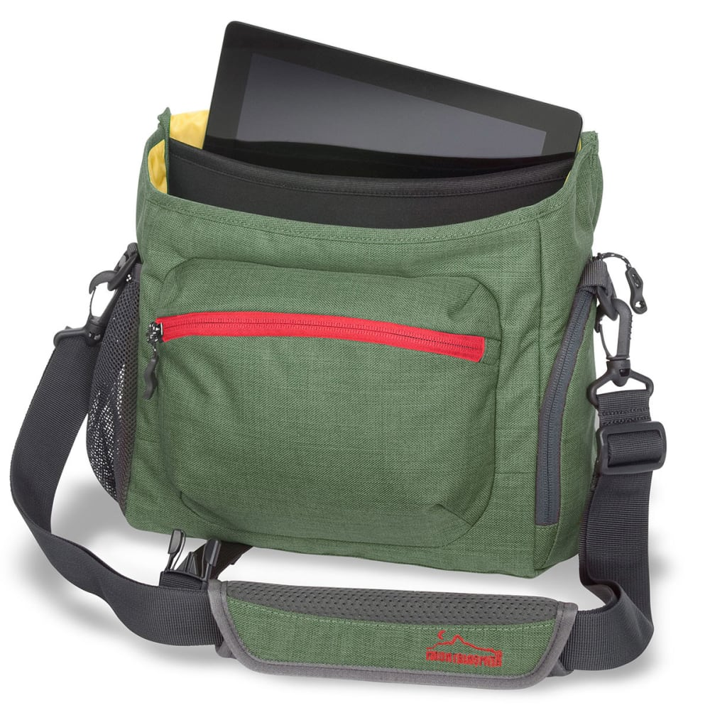 MOUNTAINSMITH Rift Messenger Bag - CAMP GREEN