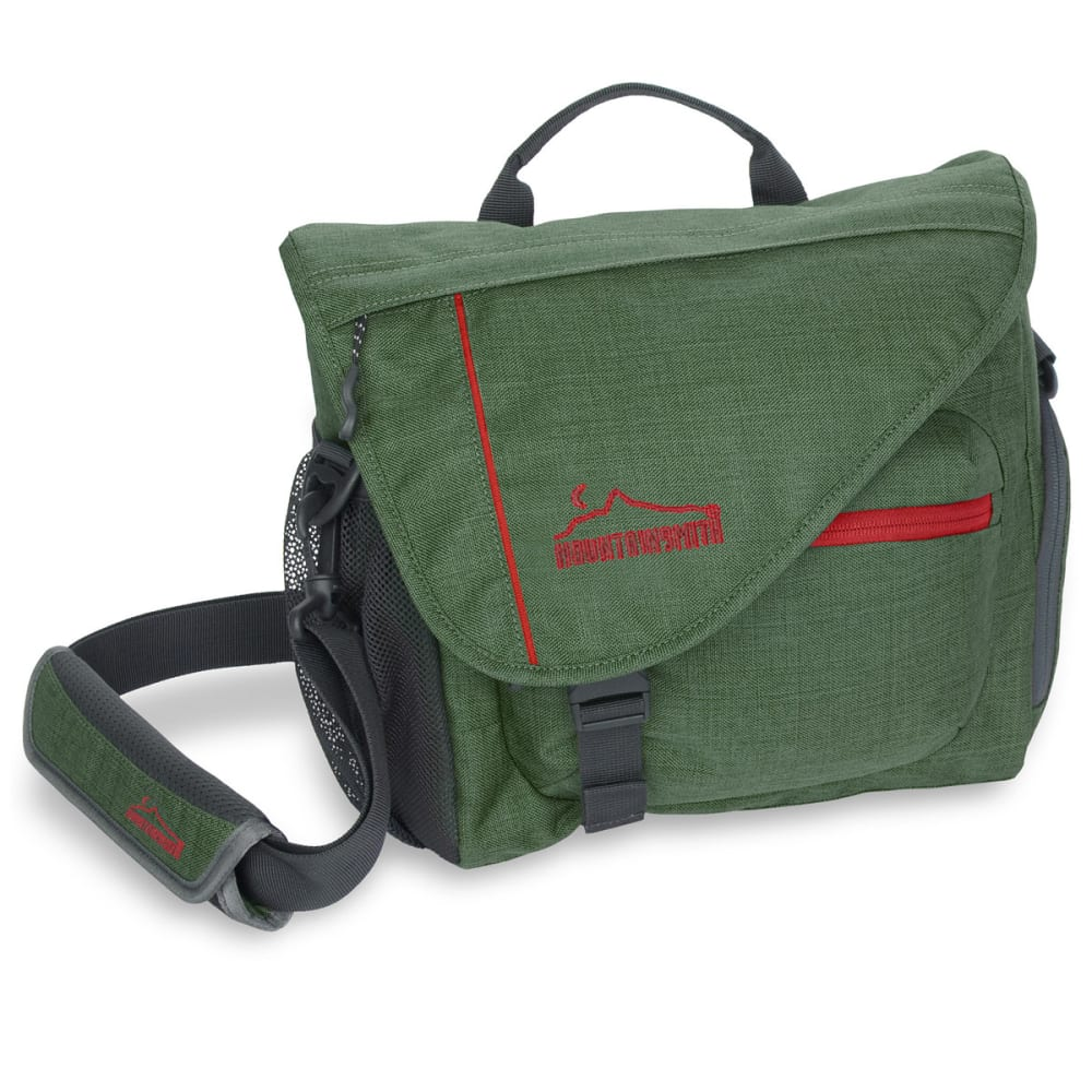 MOUNTAINSMITH Rift Messenger Bag - CAMP GREEN