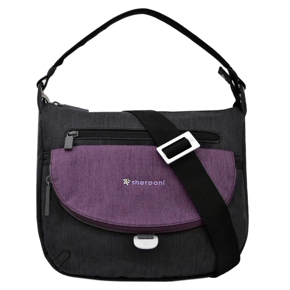 SHERPANI Vibe Shoulder Bag - BLACK/PLUM