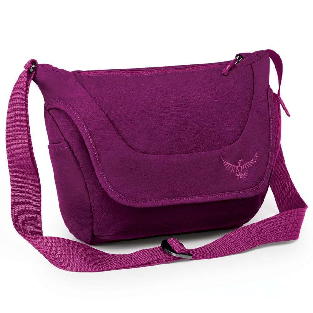 OSPREY Flap Jill Micro Shoulder Bag - DARK MAGENTA