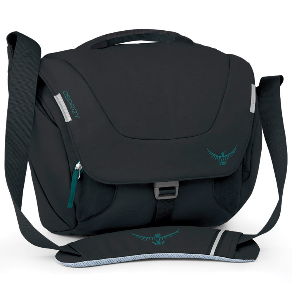 OSPREY Flap Jill Mini Shoulder Bag - BLACK