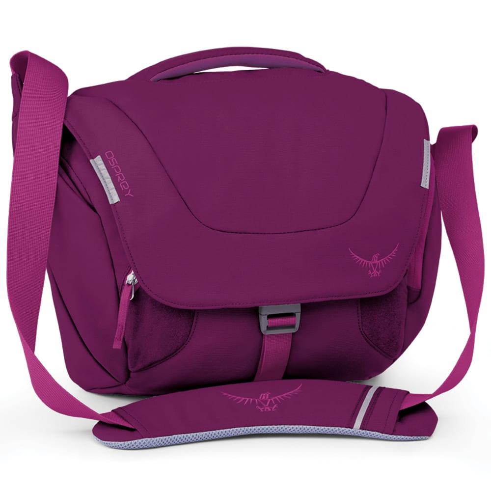 OSPREY Flap Jill Mini Shoulder Bag - DARK MAGENTA