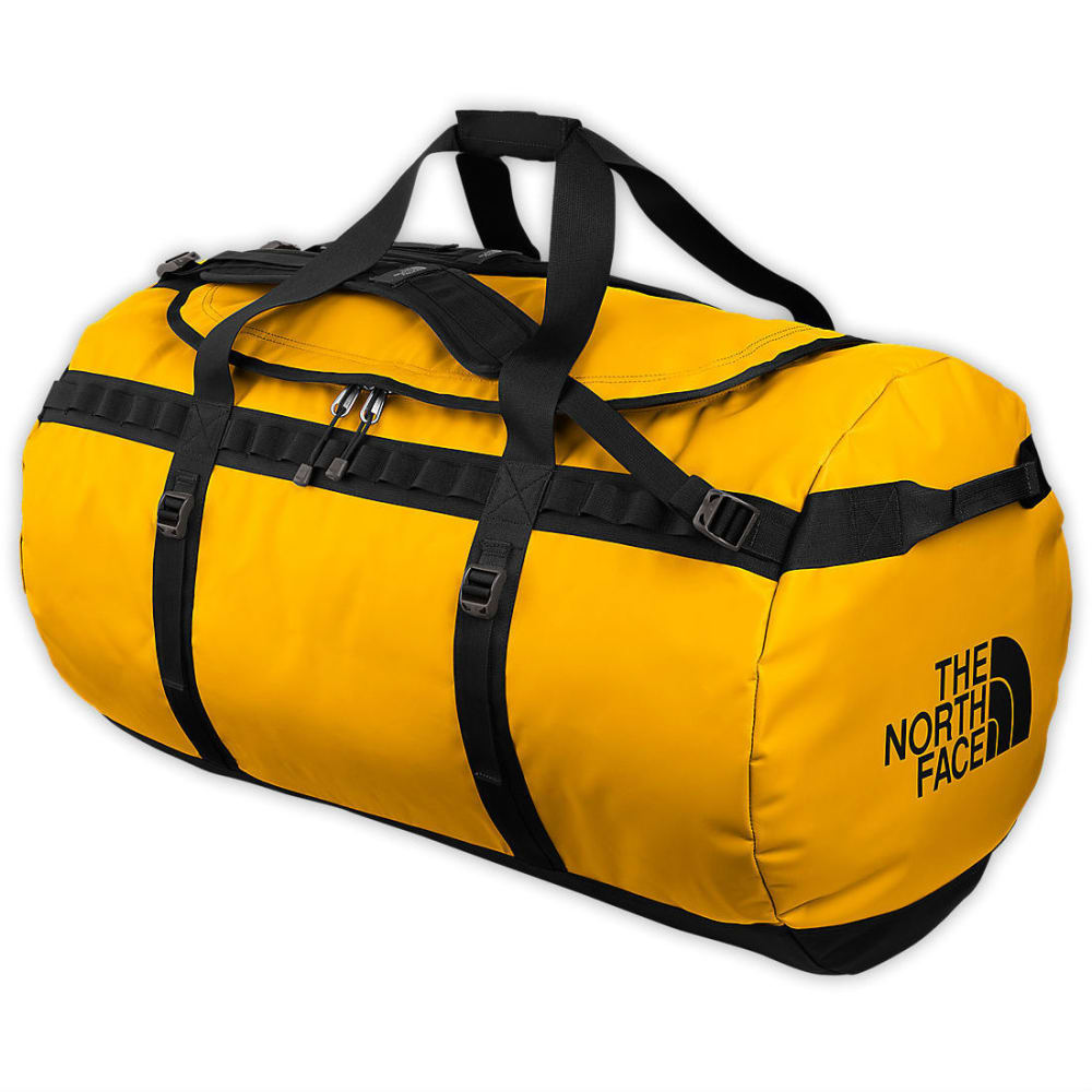 THE NORTH FACE Base Camp Duffel Bag, XL - SUMMIT GOLD/TNF BLAC