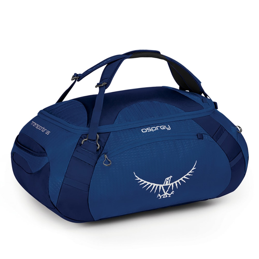 OSPREY Transporter 65 Duffel Bag, True Blue - TRUE BLUE