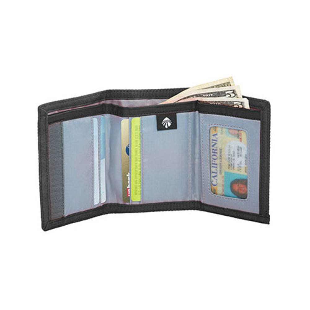 EAGLE CREEK Secure Tri-Fold Wallet - BLACK