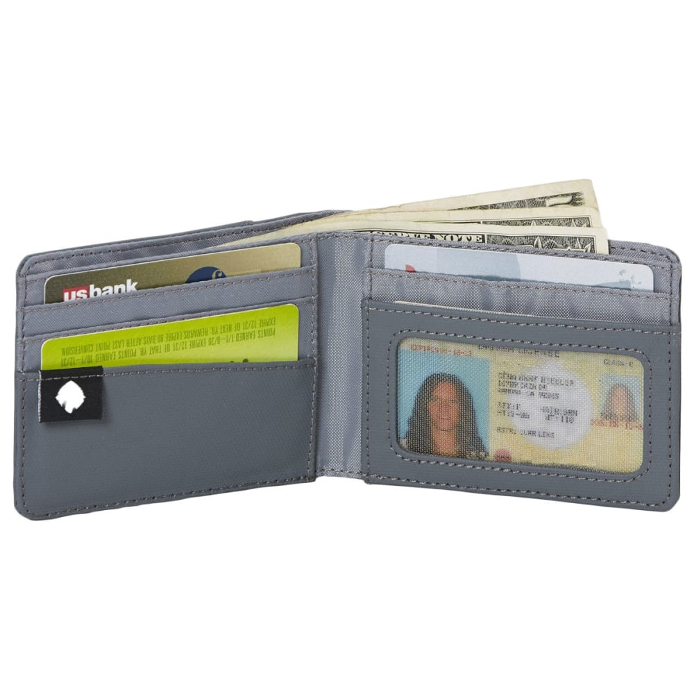 EAGLE CREEK Bi-Fold Wallet - BLACK