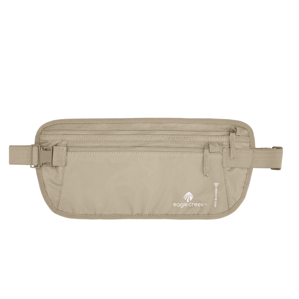 EAGLE CREEK RFID Blocker Money Belt DLX - TAN