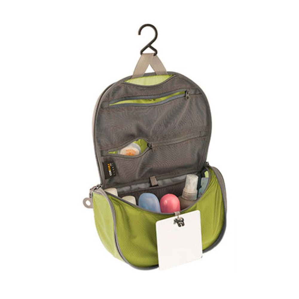 SEA TO SUMMIT Travelling Light Hanging Toiletry Kit, Small - LIME