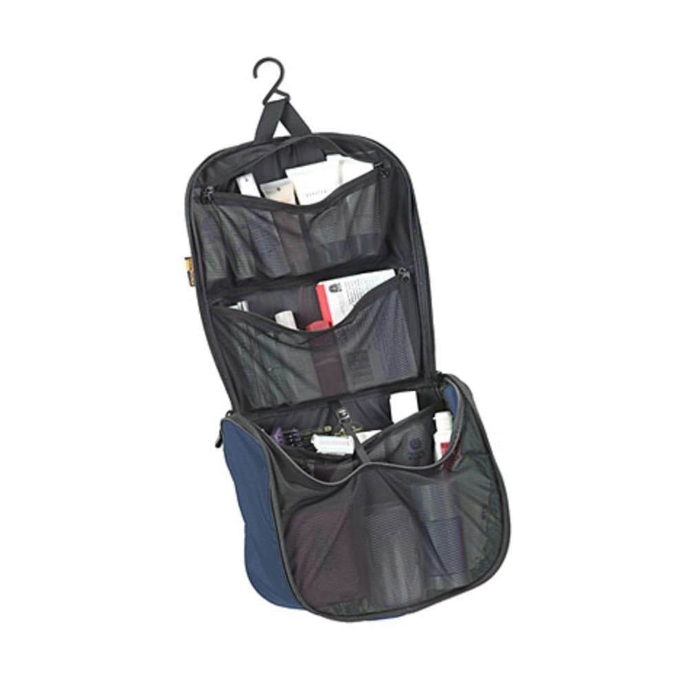 SEA TO SUMMIT Travelling Light Hanging Toiletry Kit, Small - MIDNIGHT / GREY