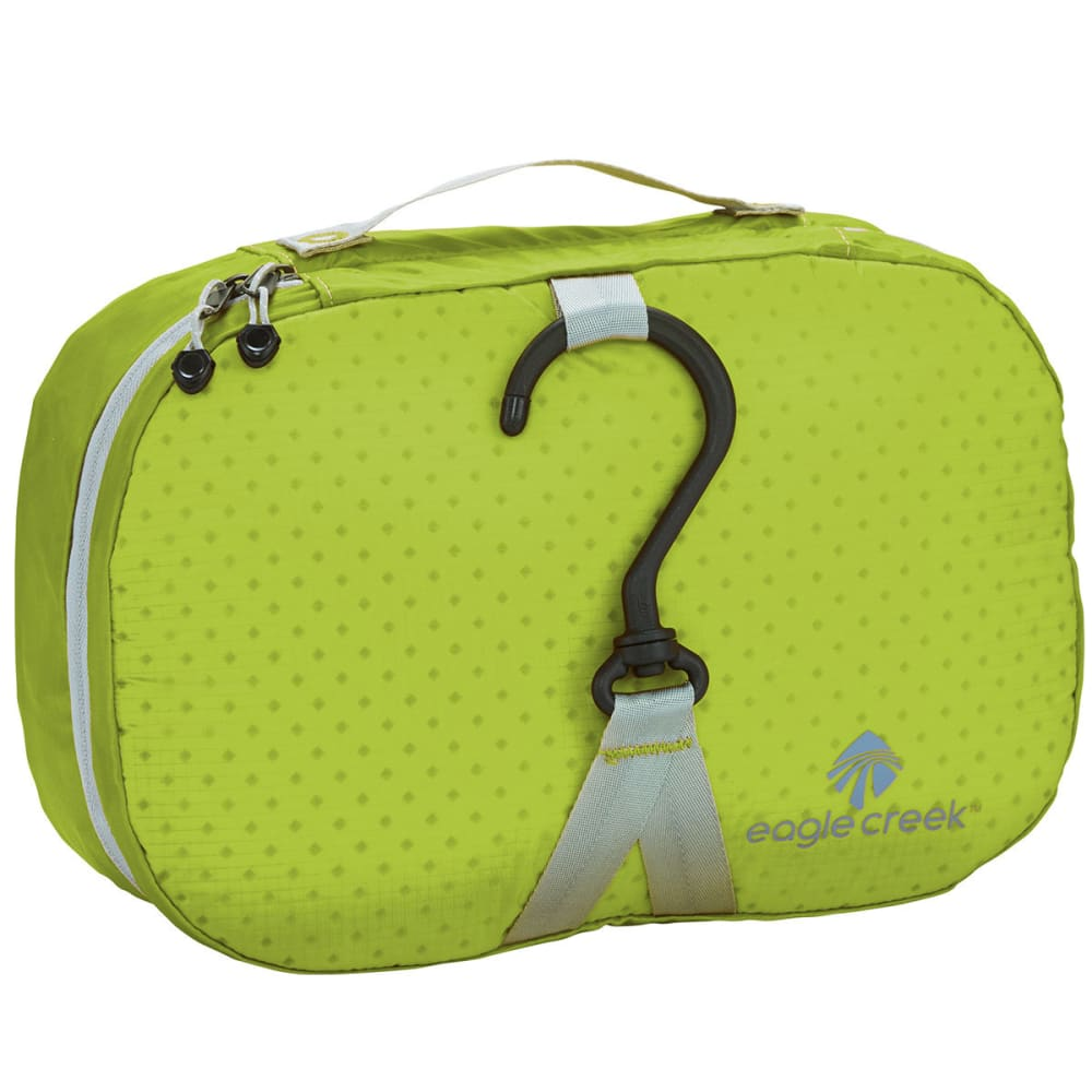EAGLE CREEK Pack-It Specter Wallaby Toiletry Kit, Small - STROBE GREEN