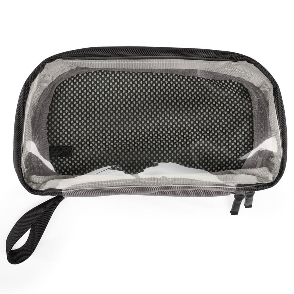 TIMBUK2 Clear Flexito Travel Bag, Large - BLACK
