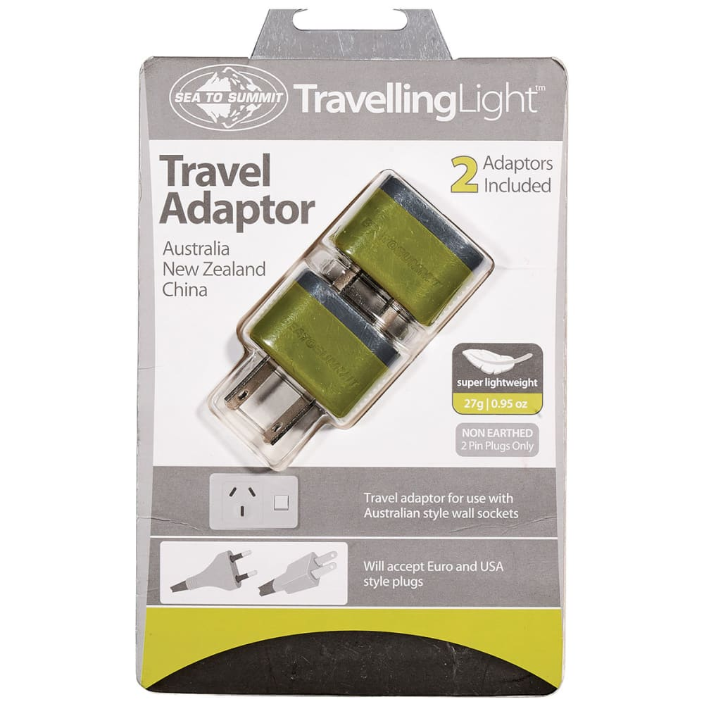 SEA TO SUMMIT Travelling Light ™ Travel Adaptor - NONE