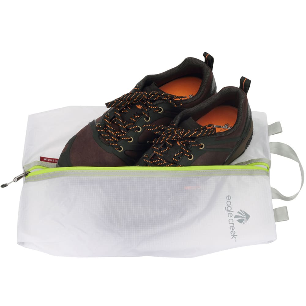 EAGLE CREEK Pack-It Specter Shoe Sac - WHITE/GREEN
