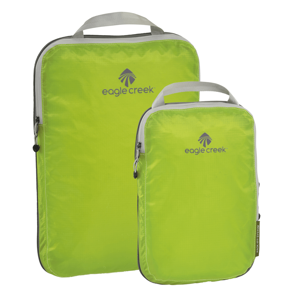 EAGLE CREEK Pack-It Specter Compression Cube Set  - STROBE GREEN