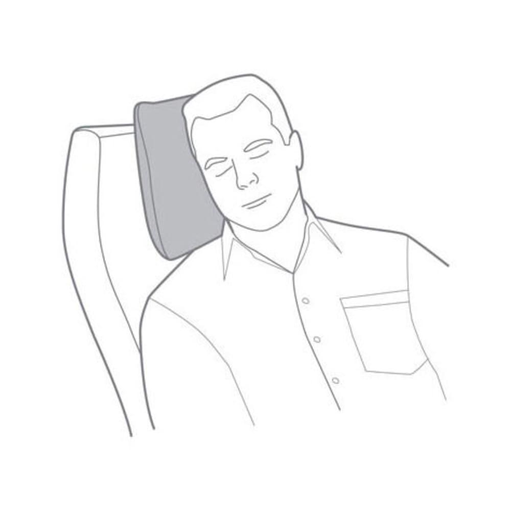 EAGLE CREEK Cat Nap Transit Pillow - CHARCOAL